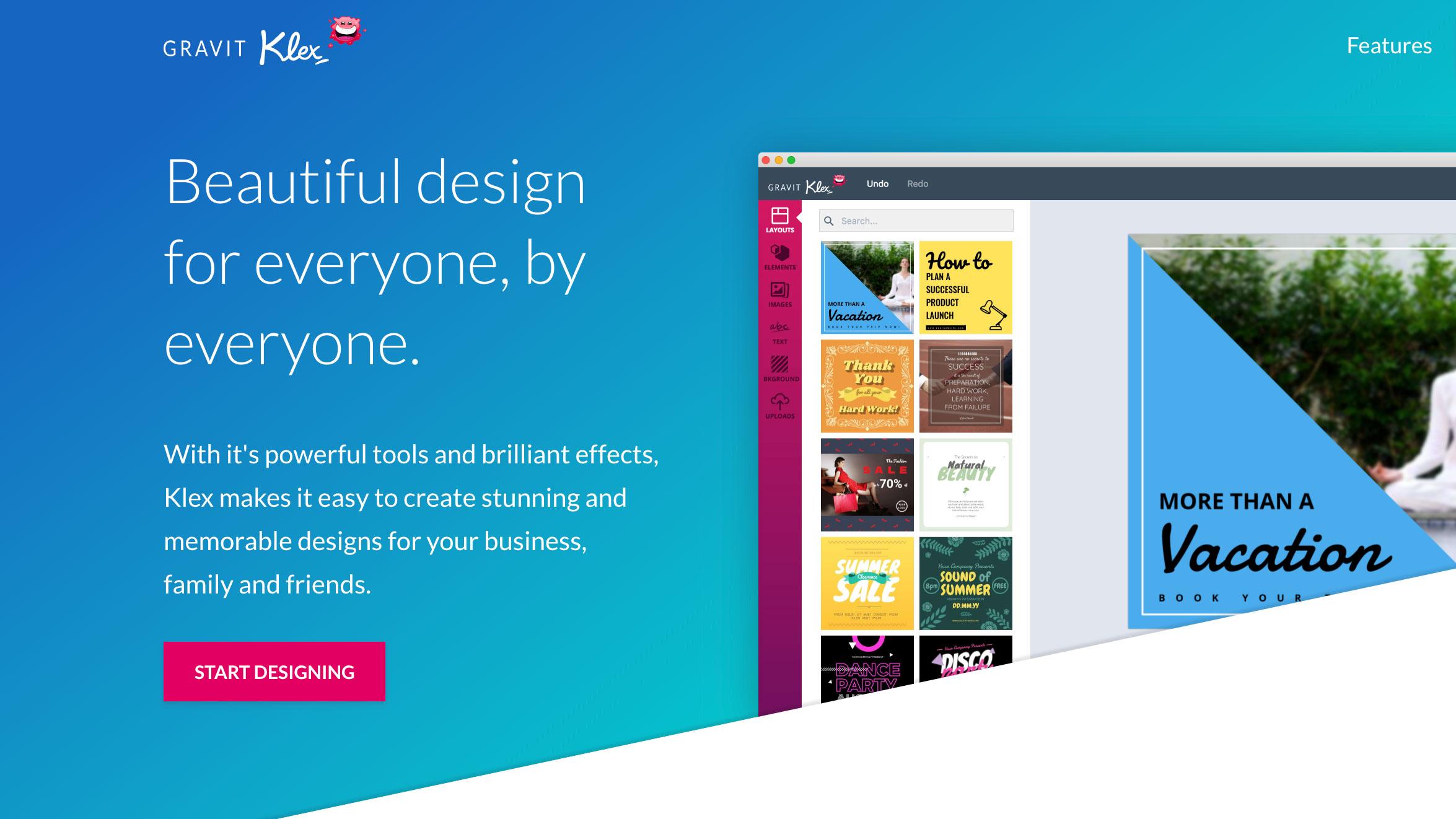 grafisk design program