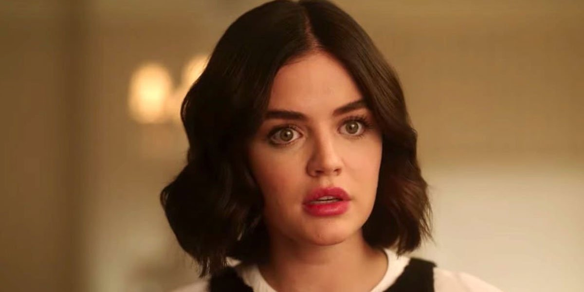 Lucy Hale playing Katy Keene recently in her career