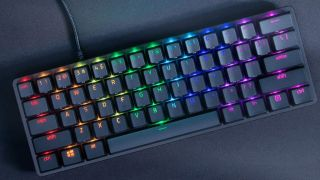 Razer's ultra-compact Huntsman Mini keyboard with optical switches is on sale for $78