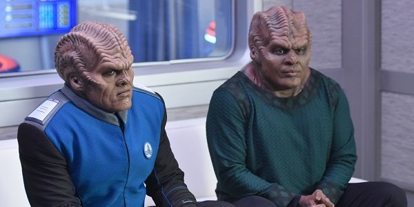 Bortus and Klyden Peter Macon Chad Coleman The Orville Fox