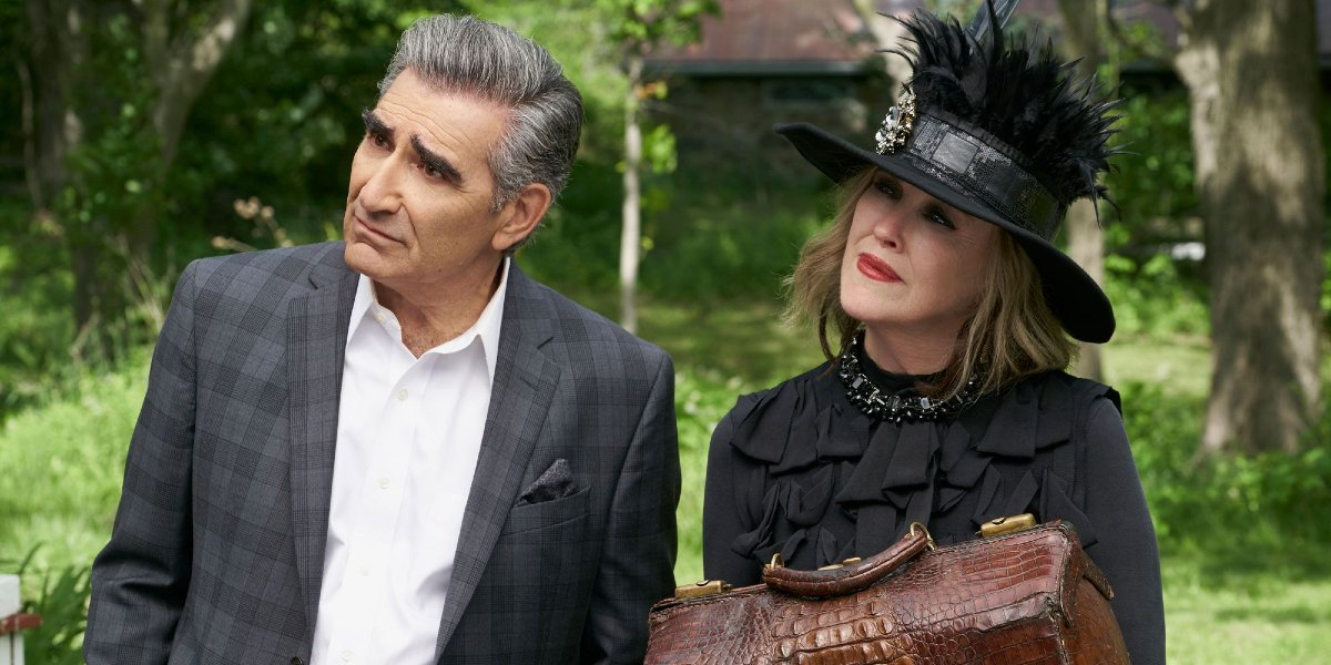 Eugene Levy and Catherine O'Hara on Schitt's Creek