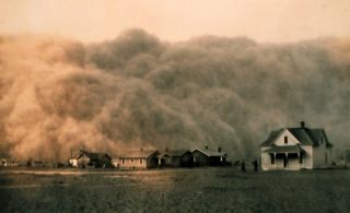 Image result for health impact of dust bowl