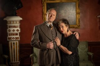 Midsomer couple: Adrian Edmondson and Caroline Quentin play husband and wife Hugo Welles and Helen.