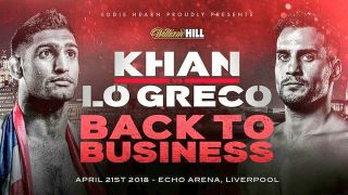 Live stream Khan vs Lo Greco