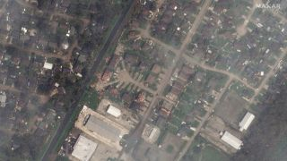 La Place, Louisiana, as seen on Aug. 31, 2021 by Maxar Technologies' WorldView-2 satellite.