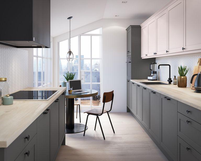 Kitchen triangle - working kitchen triangle