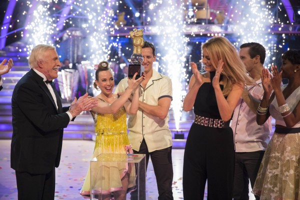 Call The Midwife star Laura Main and Brendan Cole are crowned Children In Need Strictly Come Dancing winners