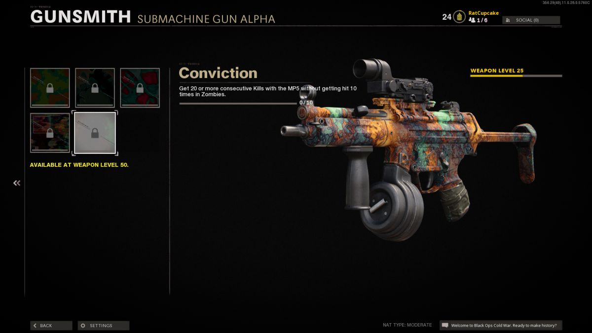 Black Ops Cold War Camos Not Tracking