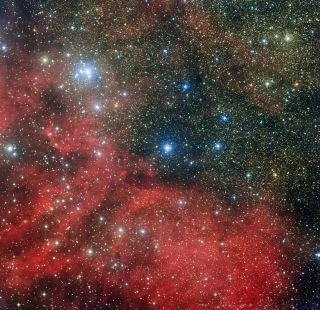 The star cluster NGC 6604 is shown in this image taken by the Wide Field Imager, which is attached to the 2.2-meter MPG/ESO telescope at the La Silla Observatory in Chile.