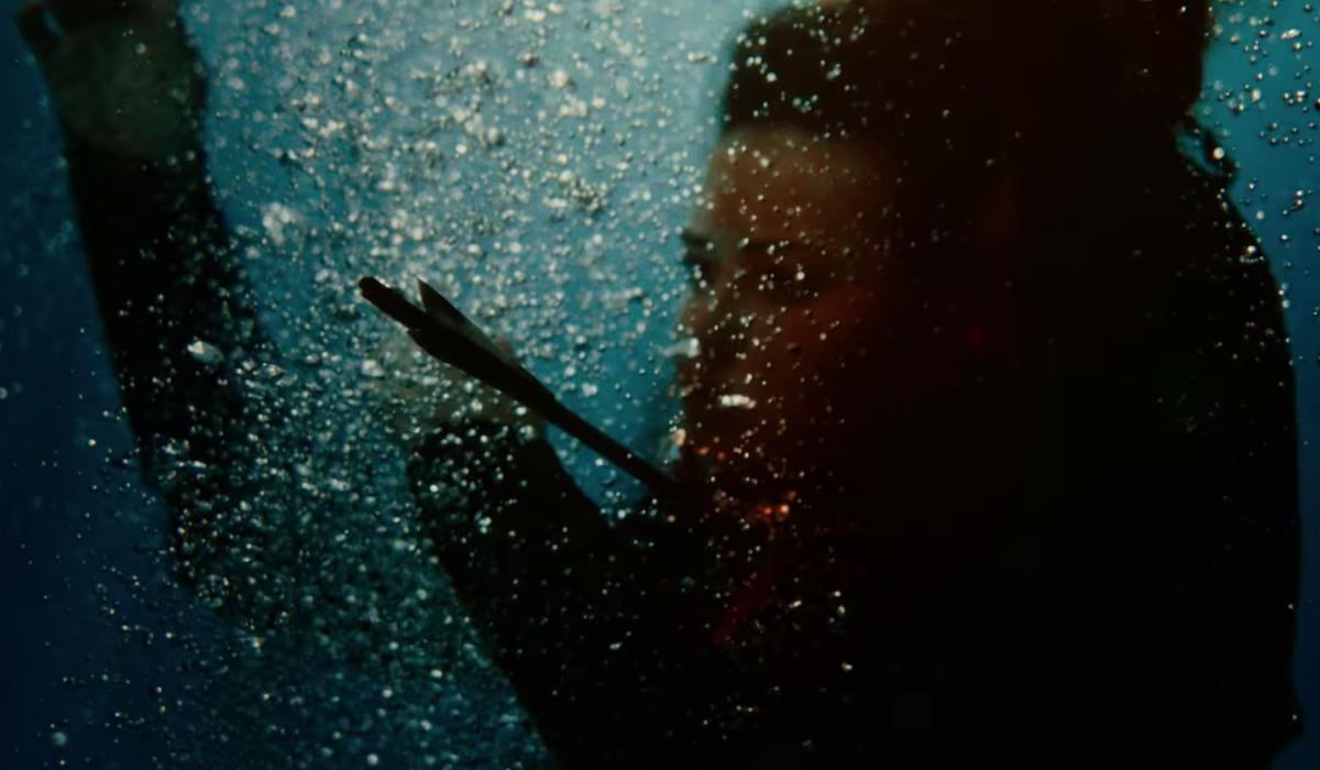 Katherine Langford as Nimue in Cursed season finale
