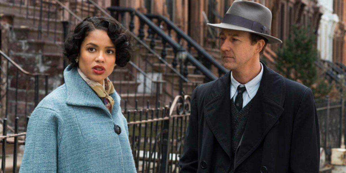 How Gugu Mbatha-Raw's Motherless Brooklyn Lead Differs From Other Film Noir Females