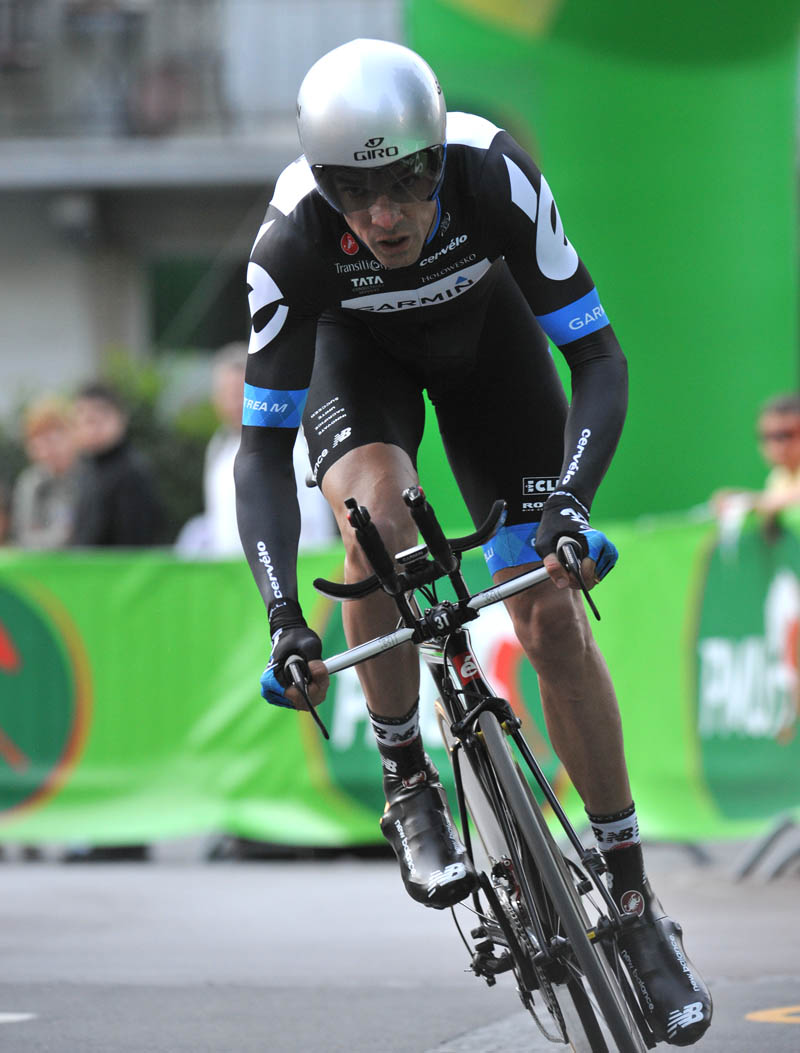 David Millar, Tour de Romandie 2011, prologue