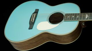 PRS Powder Blue SE Parlor P20E