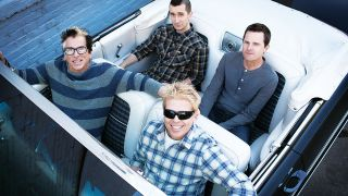 a press shot of the offspring