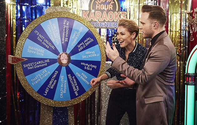 Emma Willis Olly Murs Happy Hour
