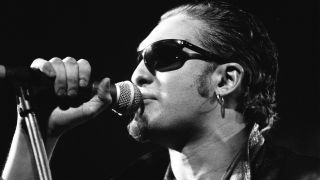 Alice in Chains (Layne Staley) perform at the Paradiso in Amsterdam, Netherlands on 12th February 1993