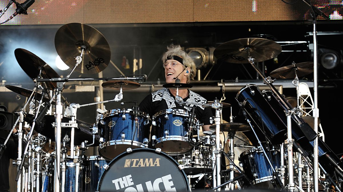 How to play drums like Stewart Copeland