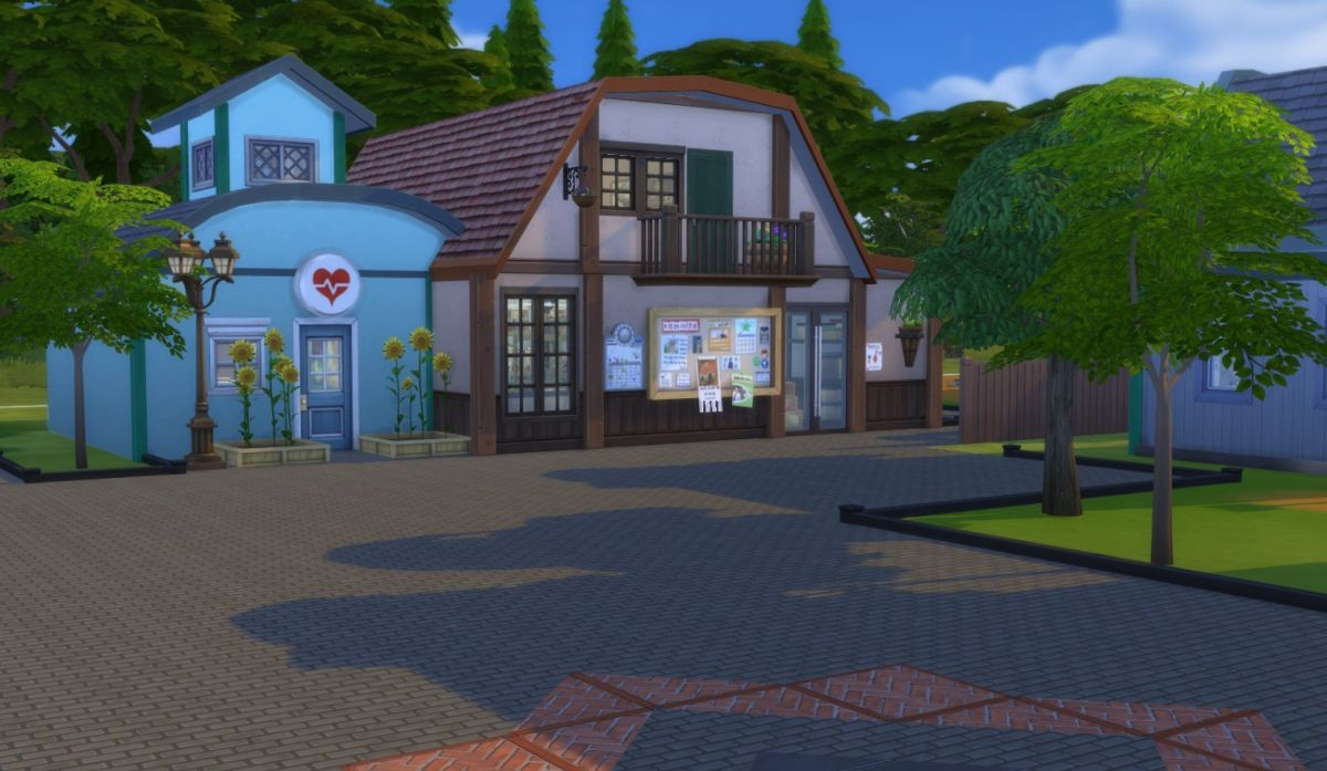 Stardew Valley's Pelican Town looks great in The Sims 4 | PC