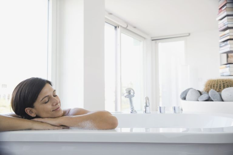 correct bath temperature for sleep