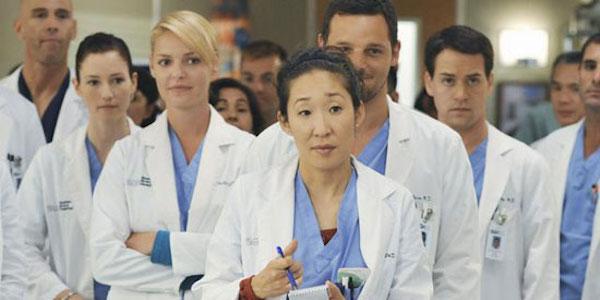 Cristina, Izzie, George, and Lexi