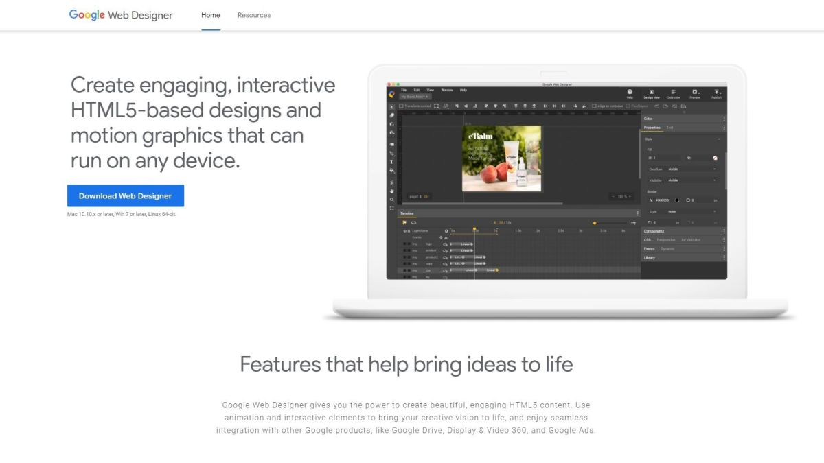 Google Web Designer Review Techradar