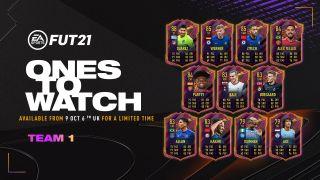 FIFA 21 OTW cards