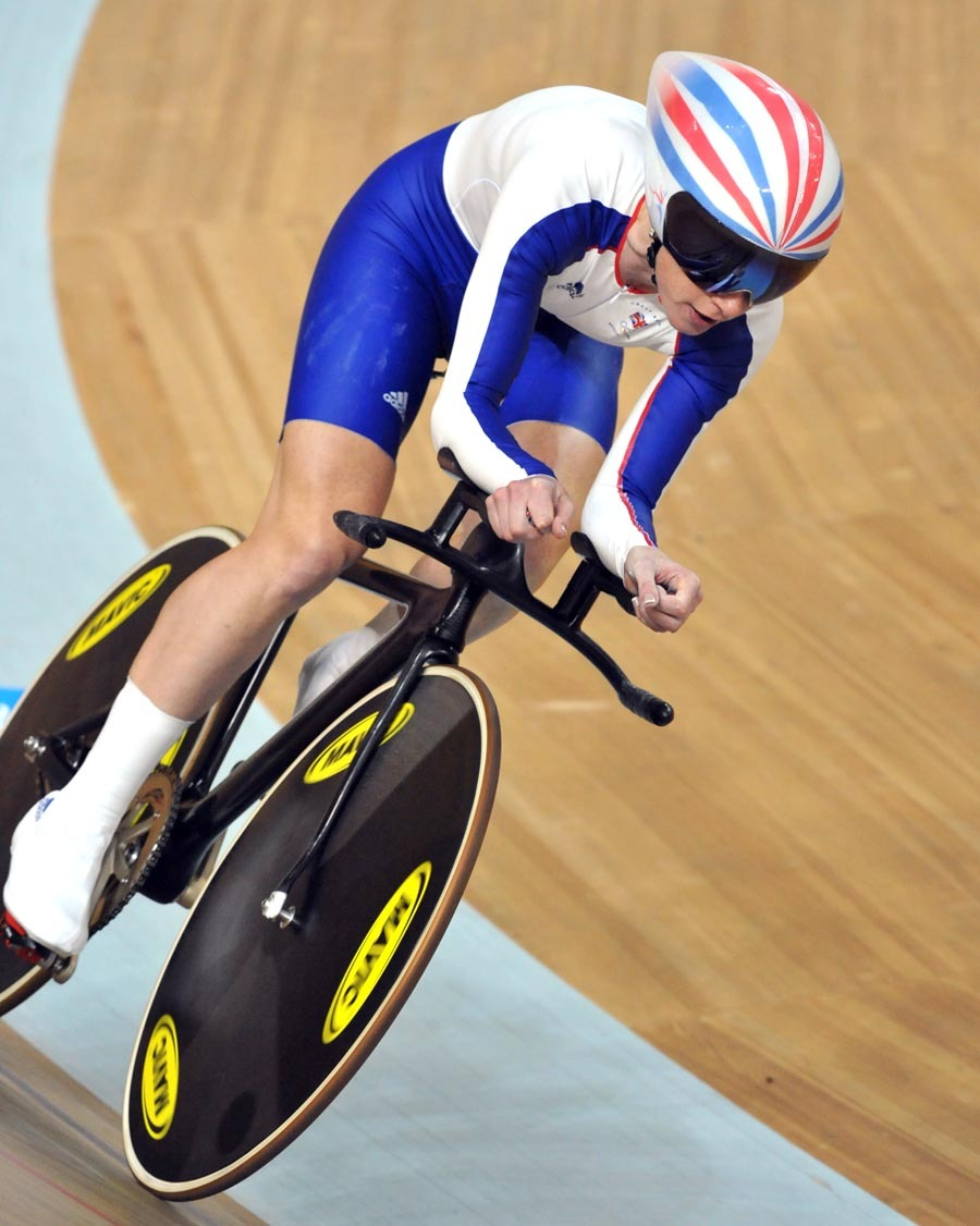 Wendy Houvenaghel silver medal pursuit Olympics 2008