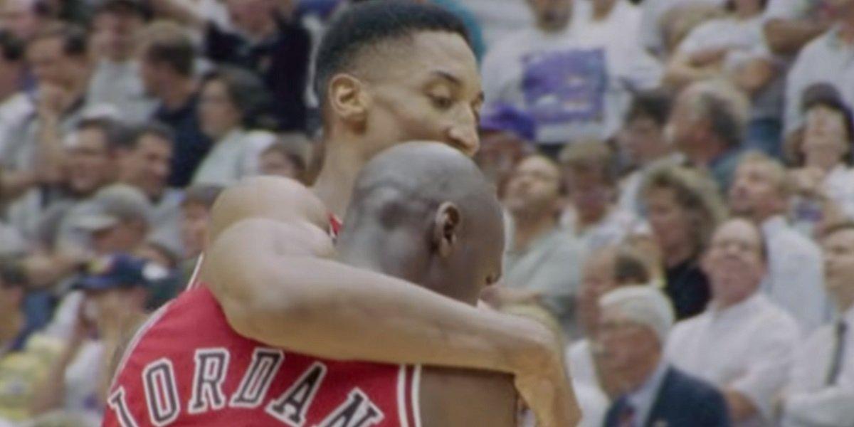 Scottie Pippen Michael Jordan The Last Dance