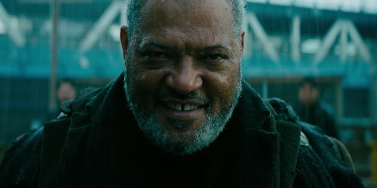 Laurence Fishburne as The Bowery King in John Wick: Chapter 3