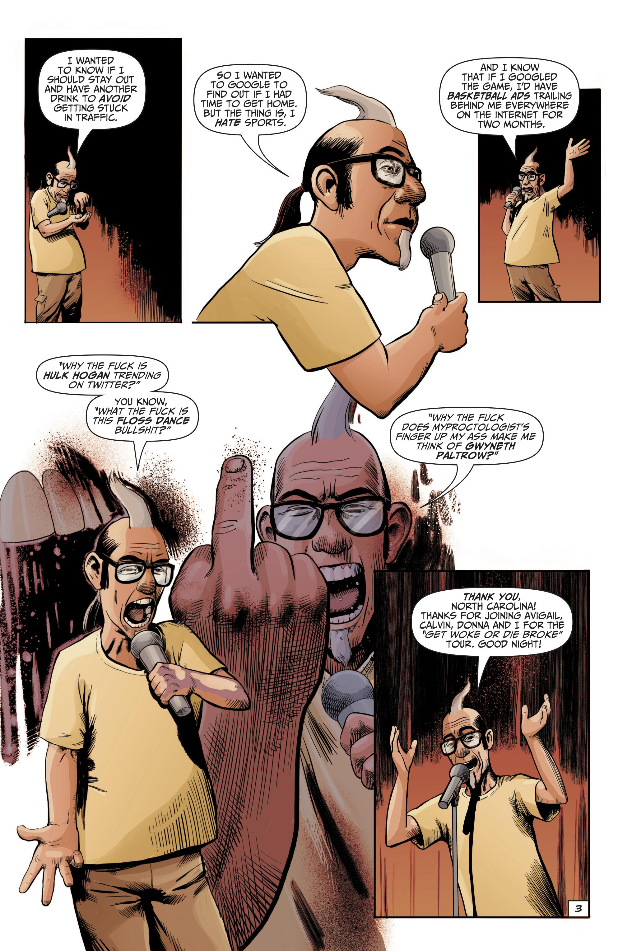 Snelson: la comedia está muriendo # 1