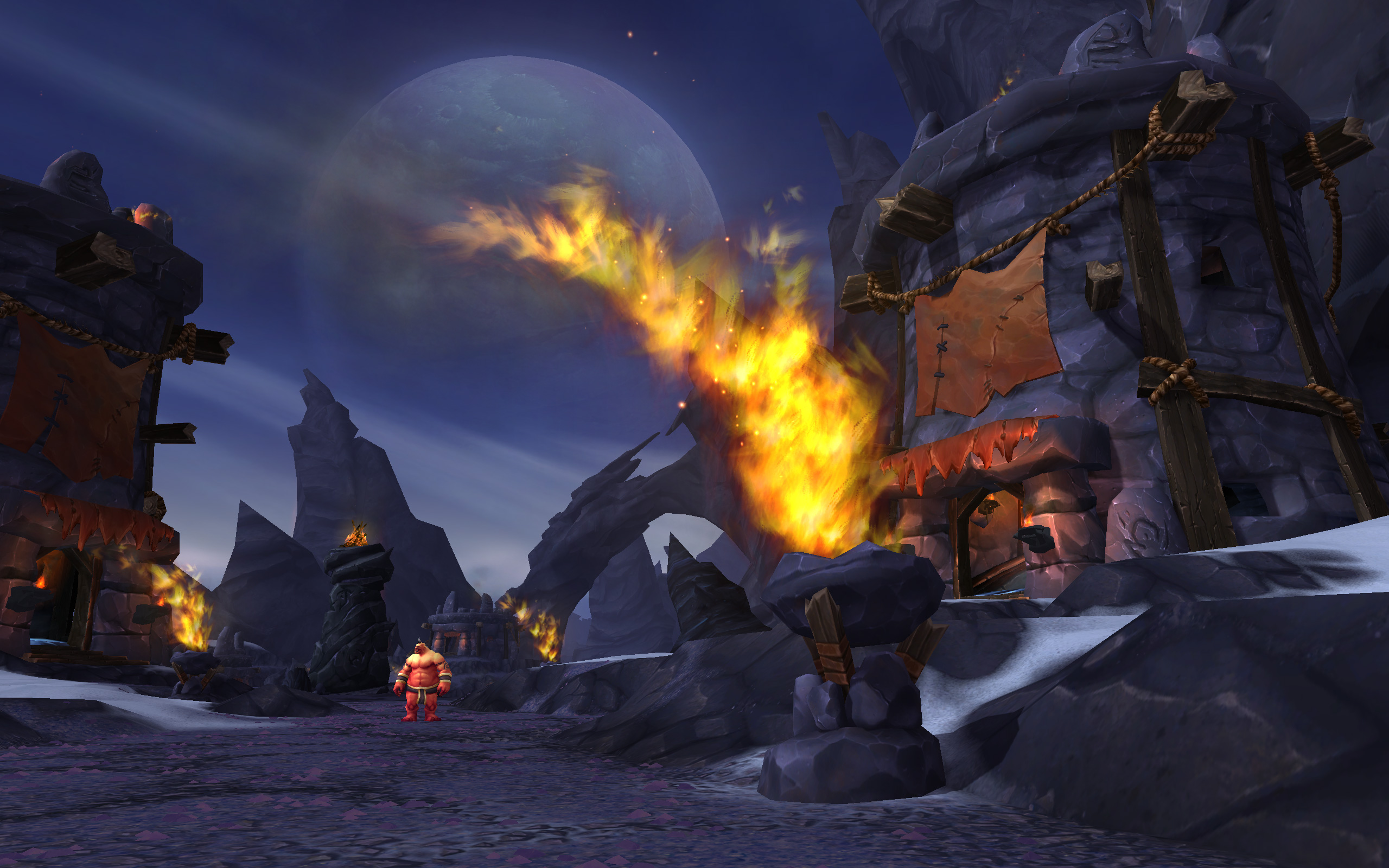World Of Warcraft: Warlords Of Draenor Screenshots Travel To First Dungeon #30651