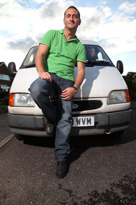 Will Mellor: 'Ollie's not a typical white van man'