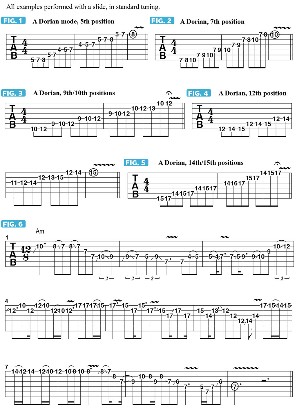 A Guide to Modal Slide Soloing in Standard Tuning | Guitarworld