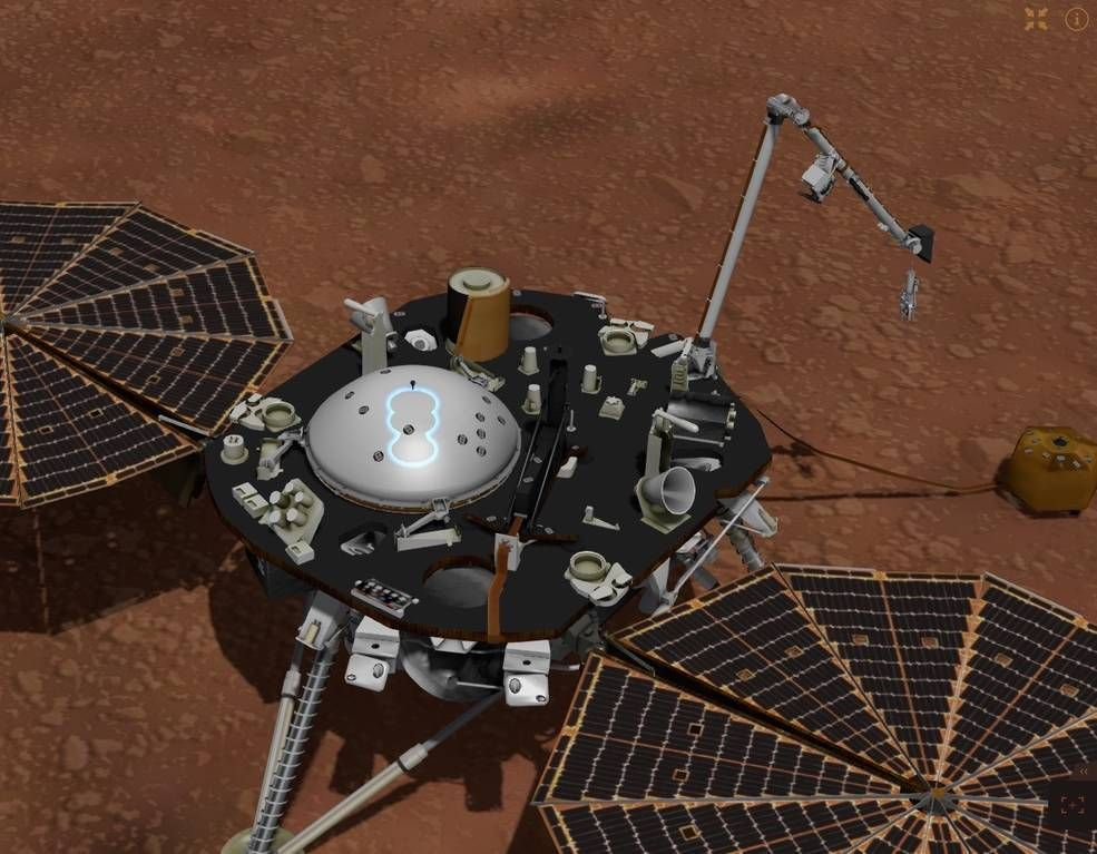 insight landing on mars live stream - photo #16