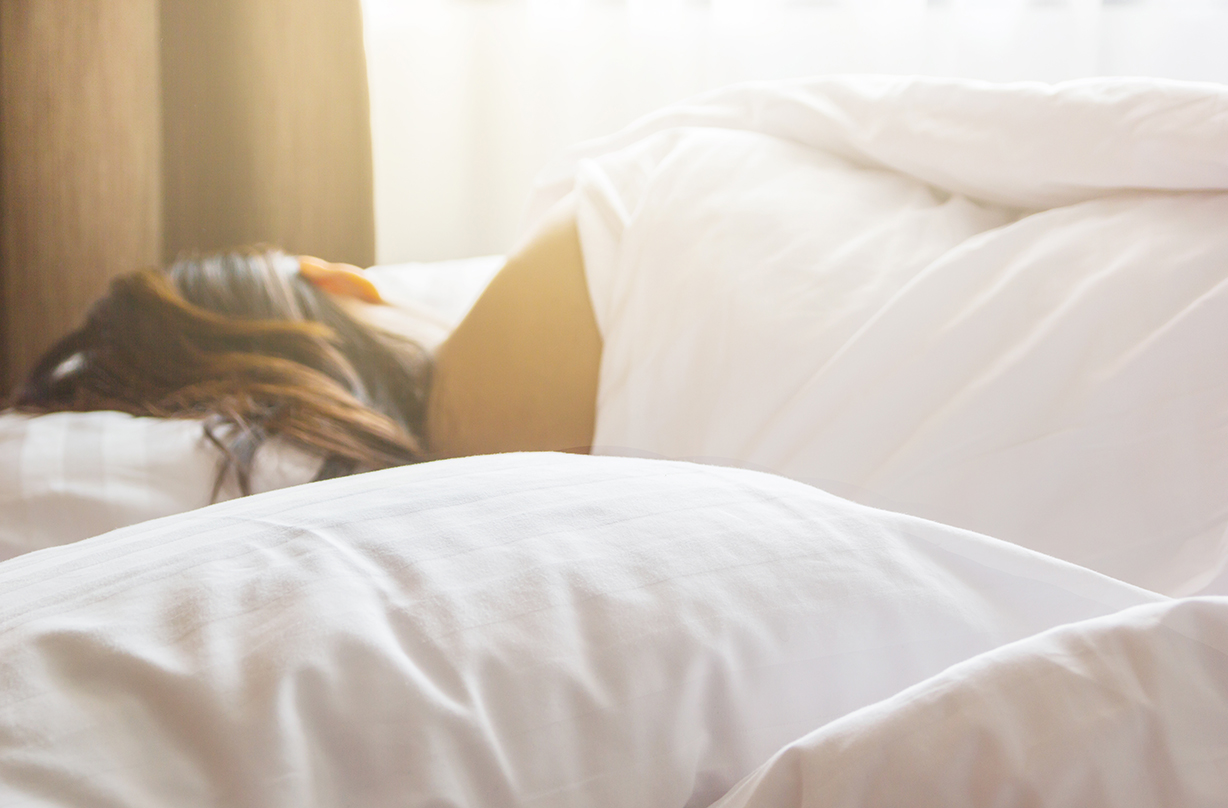 Sleeping next to someone who snores can affect your health, study suggests