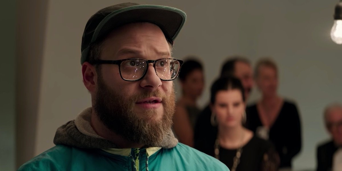 Seth Rogen in The Long Shot