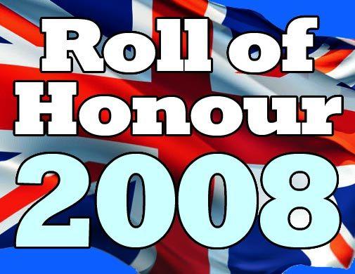 Roll of Honour 2008 logo