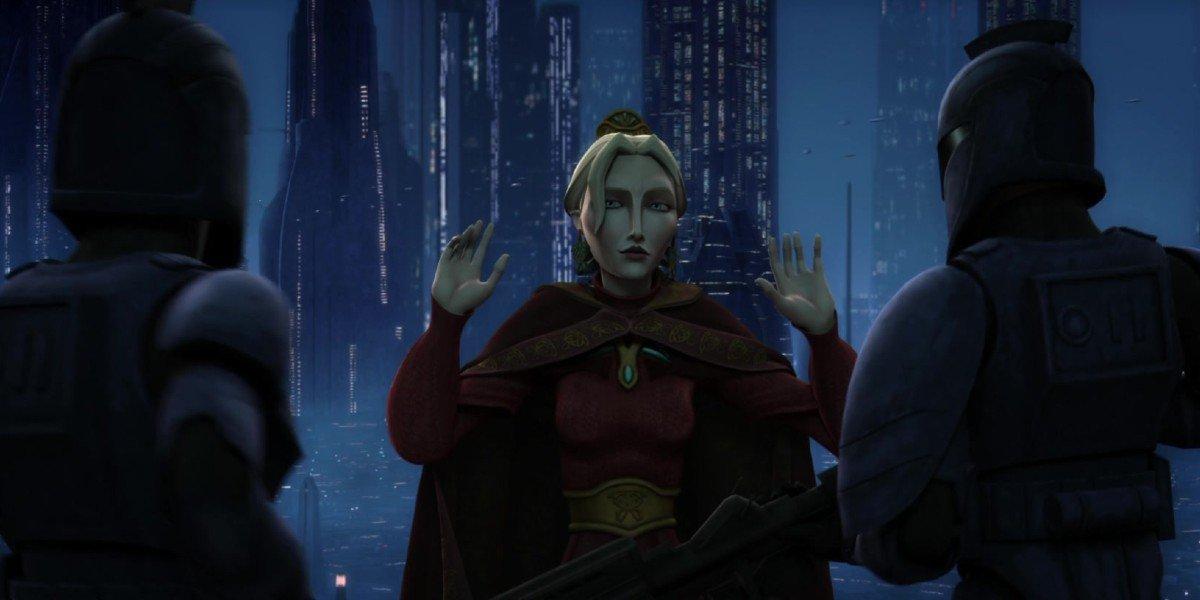 Satine in Star Wars: The Clone Wars