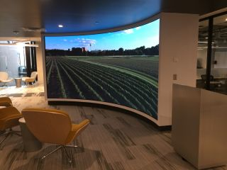 University of Minnesota Installs NanoLumens Curved Display