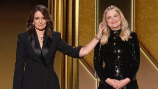 Tina Fey and Amy Poehler host the 2021 Golden Globes on NBC.