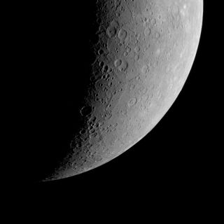 Terror Rupes on Mercury