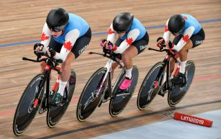 Cycling Canada: Women's team pursuit squad 2019