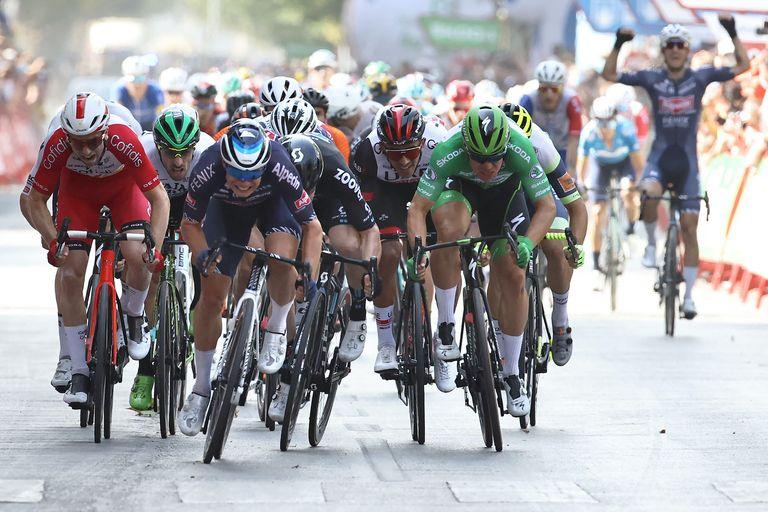 Jasper Philipsen wins stage five of the Vuelta a España