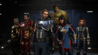 Group shot of the Avengers