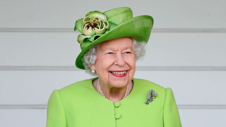 The Queen attends the Out-Sourcing Inc. Royal Windsor Cup polo match