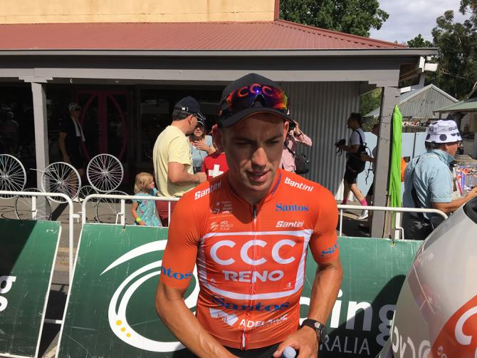 CCC Team's Paddy Bevin