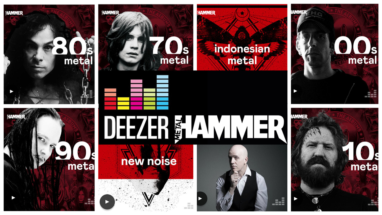Metal Hammer teams up with Deezer for exclusive audio content from the biggest names in metal | Louder