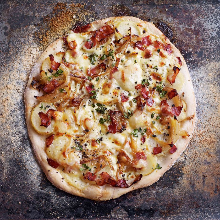 Tartiflette Pizza Recipe