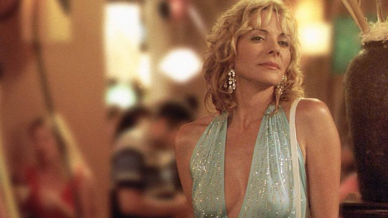 """Actress Kim Cattrall Stars As Samantha In The Hbo Comedy Series """"Sex And The City"""" The Third Season"""