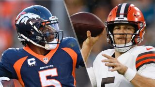 Teddy Bridgewater starts against backup Case Keenum, in the Broncos vs Browns live stream